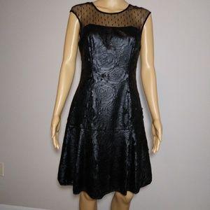 Muse Little Black Cocktail Dress Size 4